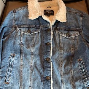 Silver Jeans Co. Insulated Denim Jacket Medium